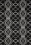 Dynamic Rugs Villa 1643-910 Black/Ivory Area Rug