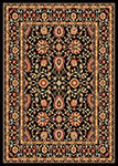 Dynamic Rugs Yazd 2803-090 Black-Black Area Rug