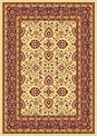 Dynamic Rugs Yazd 2803-130 Cream-Red Area Rug