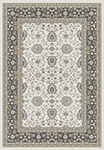 Dynamic Rugs Yazd 2803-190 Ivory Grey Area Rug
