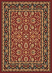 Dynamic Rugs Yazd 2803-390 Red-Black Area Rug