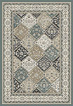 Dynamic Rugs Yazd 8471-510 Blue Ivory Area Rug