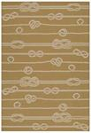 Kaleen Puerto PRT12-28 Yellow Area Rug