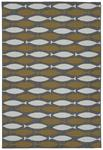 Kaleen Puerto PRT13-28 Yellow Area Rug