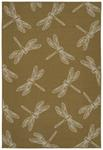 Kaleen Puerto PRT18-28 Yellow Area Rug