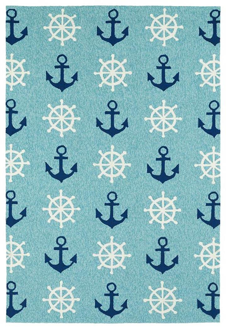 Kaleen Sea Isle SEA06-17 Blue Area Rug