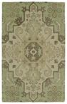 Kaleen Weathered WTR02-50 Green Area Rug