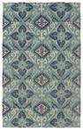 Kaleen Weathered WTR03-91 Teal Area Rug