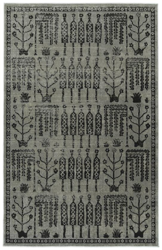 Kaleen Zuma Beach ZUM02-75 Grey Area Rug