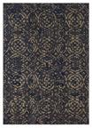 Karastan Cosmopolitan 91639-50139 Block Print Ink Blue By Patina Vie Area Rug
