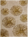 Karastan Cosmopolitan 90964-80249 Haight Brushed Gold Area Rug