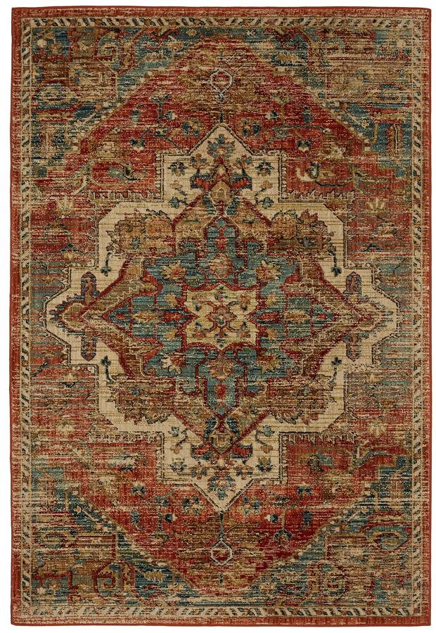 Karastan Elements 91557 20044 Kasbar Spice Area Rug
