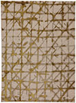 Karastan Enigma 90969-00918 Contact Brushed Gold Area Rug