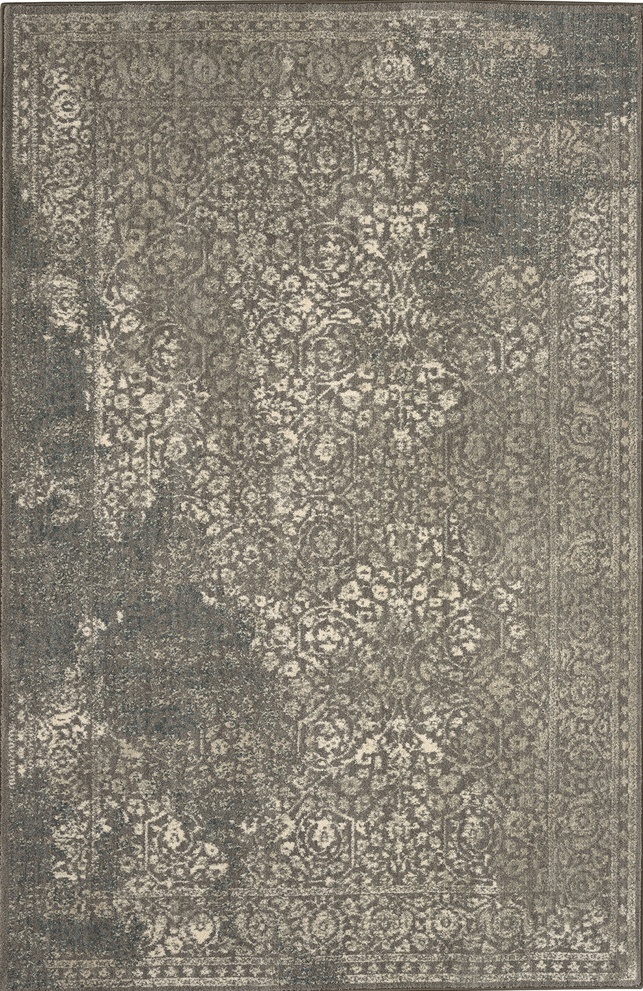 Karastan Euphoria Ayr Willow Grey 90643 90075 Area Rug