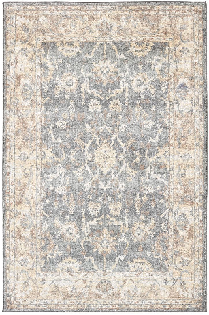 Karastan Euphoria Liffey Willow Gray 91194 90075 Area Rug