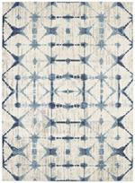 Karastan Expressions 91669-70033 Triangle Accordion Beige by Scott Living Area Rug