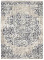 Karastan Expressions 91672-50102 Dharma Medallion Indigo by Scott Living Area Rug