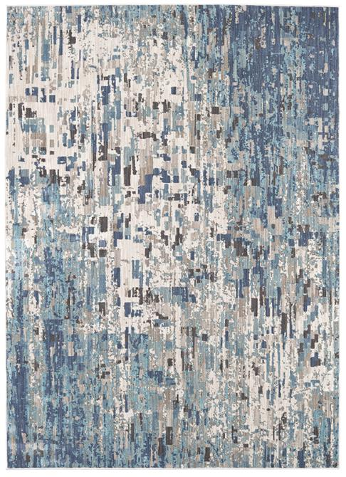 Karastan Expressions 91676-50137 Precipice Lagoon by Scott Living Area Rug