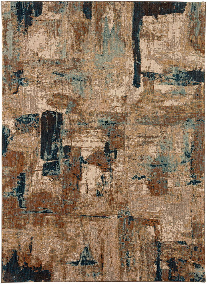 Karastan Intrigue 91201 60110 Envision Aquamarine Area Rug