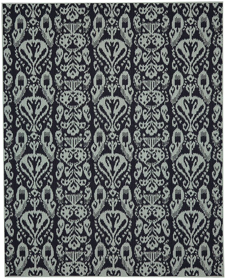 Portico 91023-2095 Bondi Navy Indoor-Outdoor Area Rug - Karastan