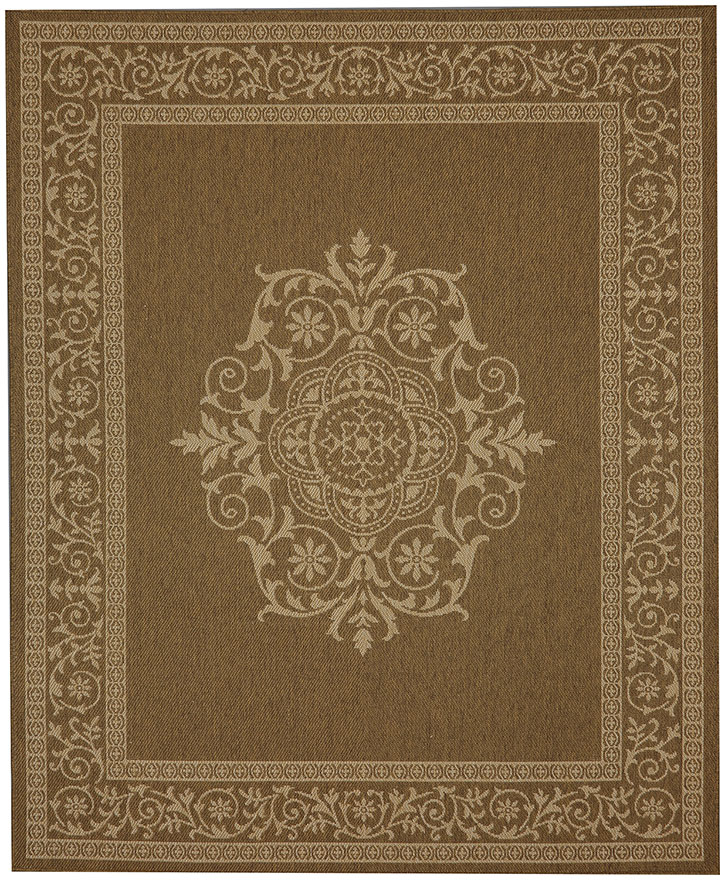 Portico 91025-1167 San Tropez Natural Indoor-Outdoor Area Rug - Karastan