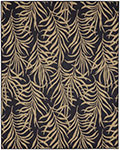 Portico 91021-2095 Hanalei Bay Navy Indoor-Outdoor Area Rug - Karastan