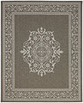 Portico 91025-1200 San Tropez Grey Indoor-Outdoor Area Rug - Karastan