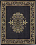 Portico 91025-2095 San Tropez Navy Indoor-Outdoor Area Rug - Karastan