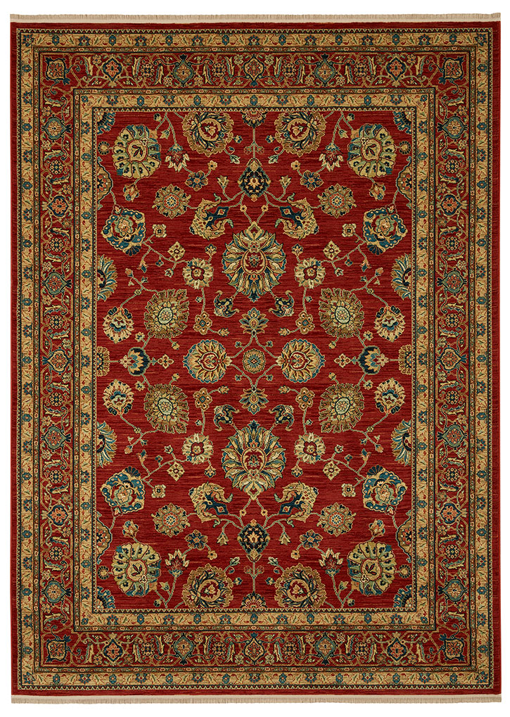 Karastan Sovereign Sultana Red 00990 14606 Area Rug Carpetmart