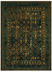 Karastan Spice Market 91636-50130 Faded Arabesque Sapphire By Patina Vie Area Rug