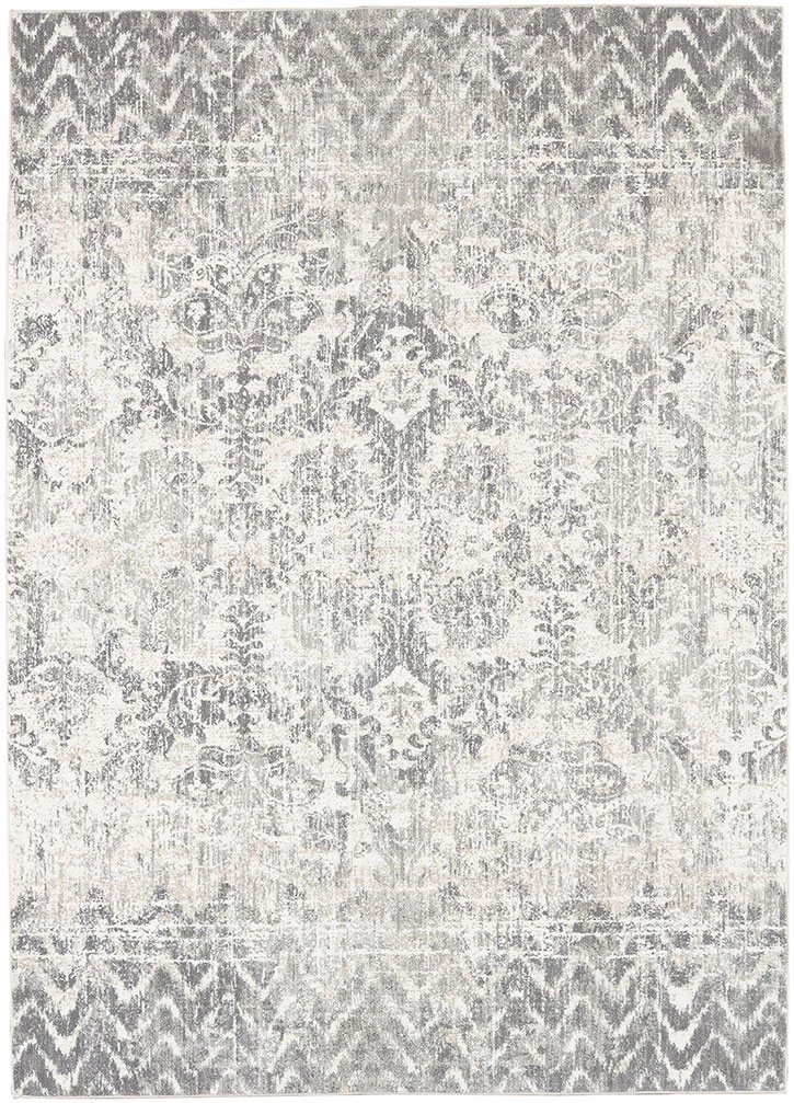 Karastan Touchstone Le Jardin Willow Gray by Patina Vie 91231-90075 Area Rug