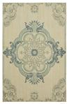 Karastan Vintage Tapis 91434-60110 Crown Jewel Aqua by Patina Vie Area Rug