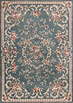 Kas Avalon 5602 Slate Blue Aubusson Area Rug
