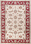 Kas Avalon 5613 Ivory/Red  Mahal Area Rug