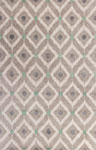 Kas Bob Mackie Home 1017 Silver/Grey Mirage Area Rug