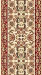 Kas Cambridge Classic 7303 Ivory Red Kashan 2'3
