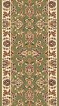 Kas Cambridge Classic 7314 Green Ivory Kashan 2'3