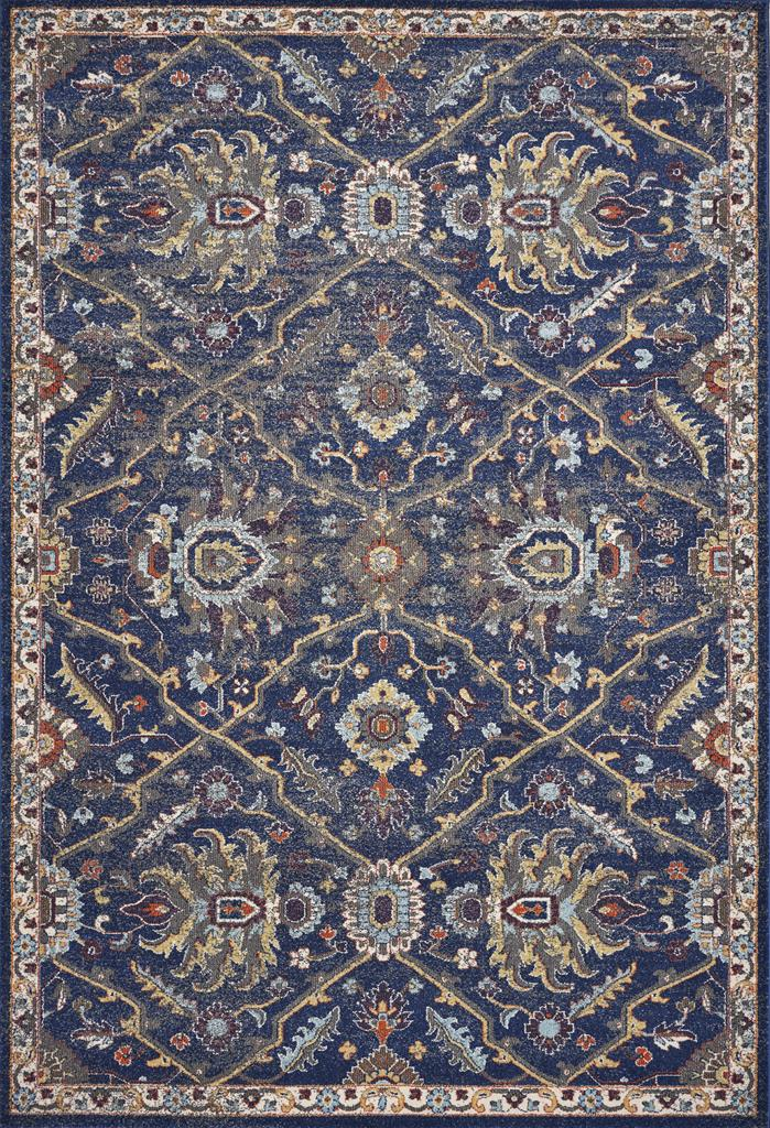 Kas Corsica 7859 Royal Blue Courtyard Area Rug