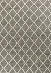 Kas Cortico 6162 Dark Grey Diamonds Area Rug