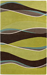 Kas Eternity 1084 Lime/Mocha Landscapes Area Rug