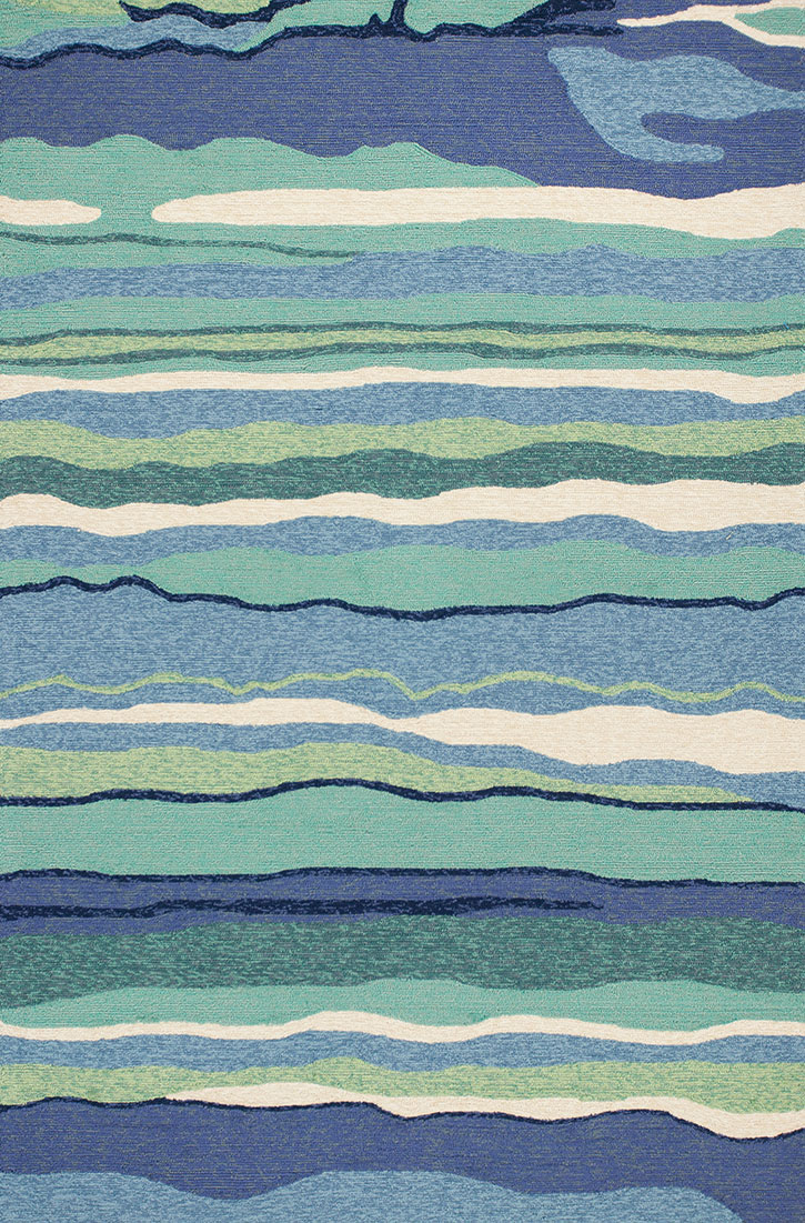 Kas harbor 4216 ocean lagoon area rug for Area rugs and carpets