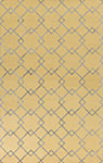Kas Impressions 4613 Gold/Grey  Courtyard Area Rug