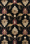 Kas Cambridge 7366 Black Palazzo Area Rug