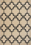 Kas Corinthian 5370 Ivory/Black Arabesque Area Rug