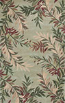 Kas Sparta 3144 Sage Tropical Branches Area Rug