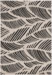 Kas Lucia 2770 Black White Folia Area Rug