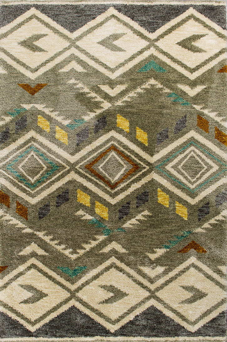 Kas Mission 4457 Grey Rustico Area Rug Carpetmart Com