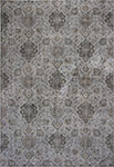 Kas Provence 8605 Silver Allover Kashan Area Rug