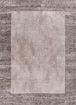 Kas Retreat 0114 Taupe Border Area Rug