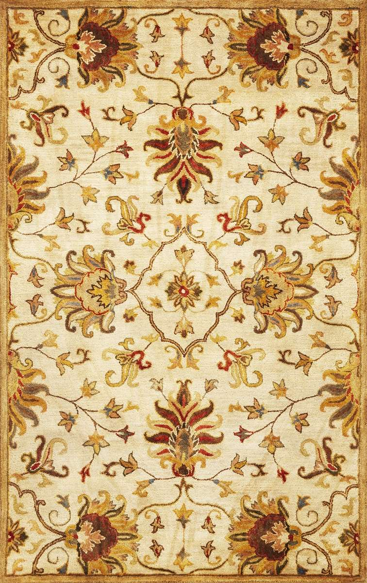 Syriana 6012 Champagne Agra Area Rug By Kas Oriental Rugs